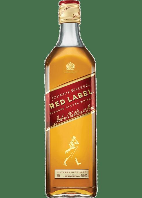 Johnnie Walker Red Label.