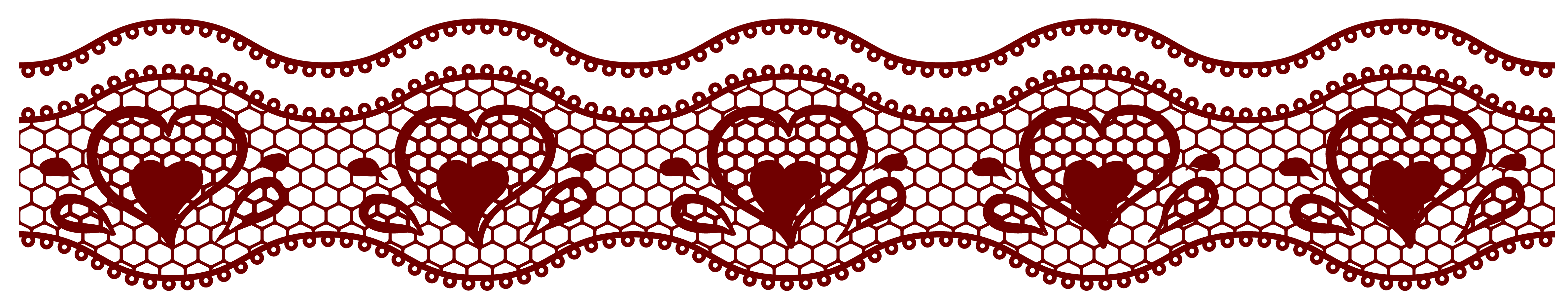 Red lace clipart - Clipground