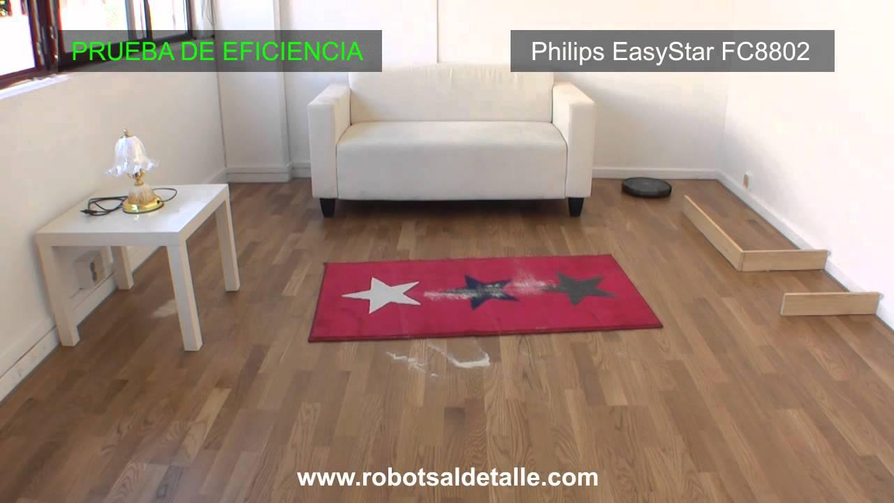 Phillips EasyStar: Prueba de eficiencia.