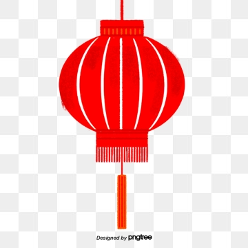 Red Lanterns Hanging High Png, Vector, PSD, and Clipart With.