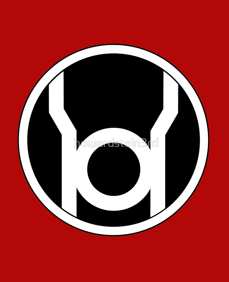 Red Lantern symbol.