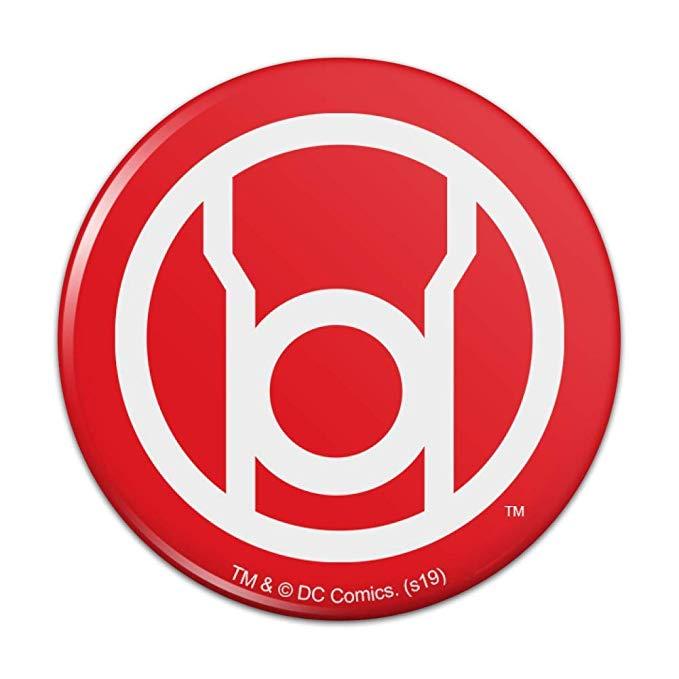 Amazon.com: Green Lantern Blackest Night Red Lantern Logo.