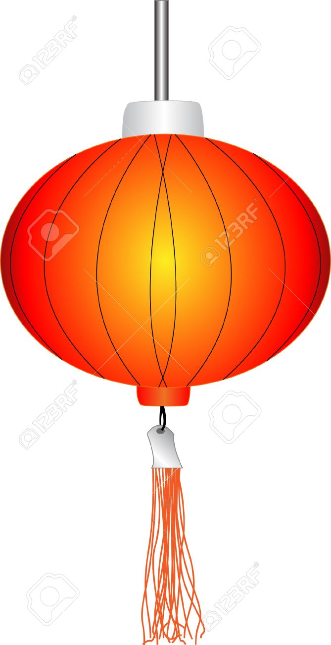 Chinese Red Lanterns Royalty Free Cliparts, Vectors, And Stock.