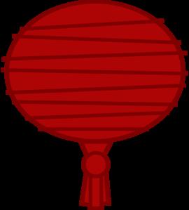 Red Paper Lantern Clip Art at Clker.com.