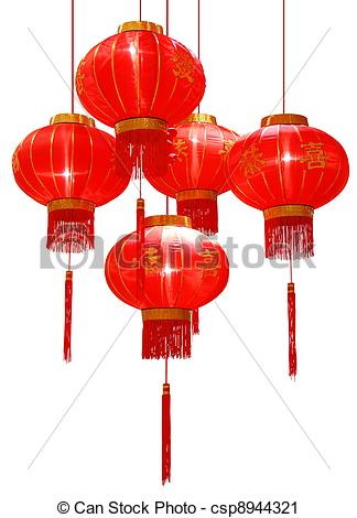 Stock Photography of Chinese red Lantern csp8944321.