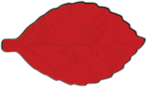 Red Leaf Clip Art at Clker.com.