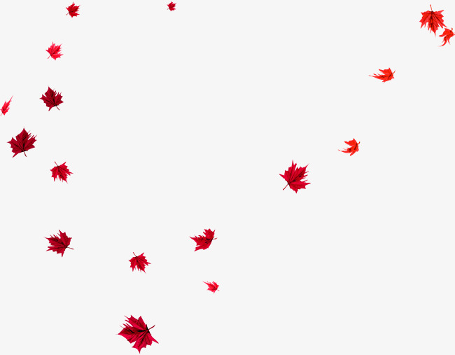 Download Free png Small Fresh Red Leaves, Gules, Leaf.