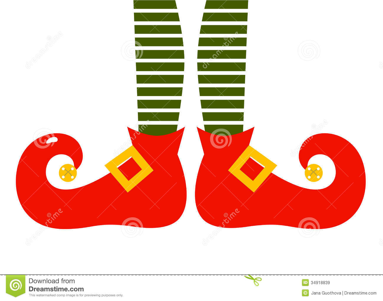 Christmas elf legs clipart free.