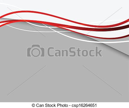 Clipart Vector of Abstract background with red lines csp16264651.