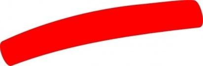 Red Line Clip Art.