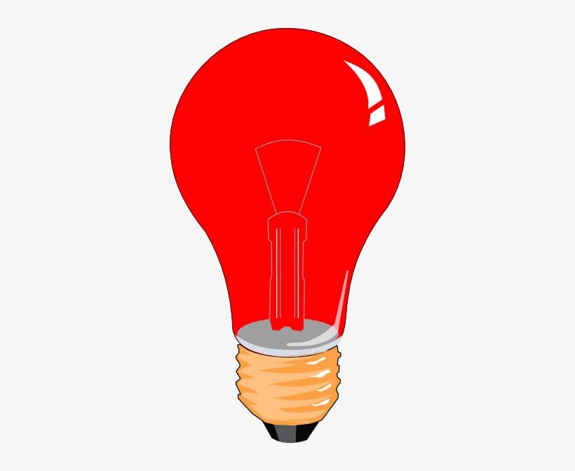 Light Bulb Clipart Red.
