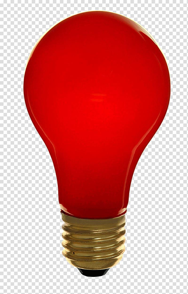 Incandescent light bulb Lighting Edison screw LED lamp, red.
