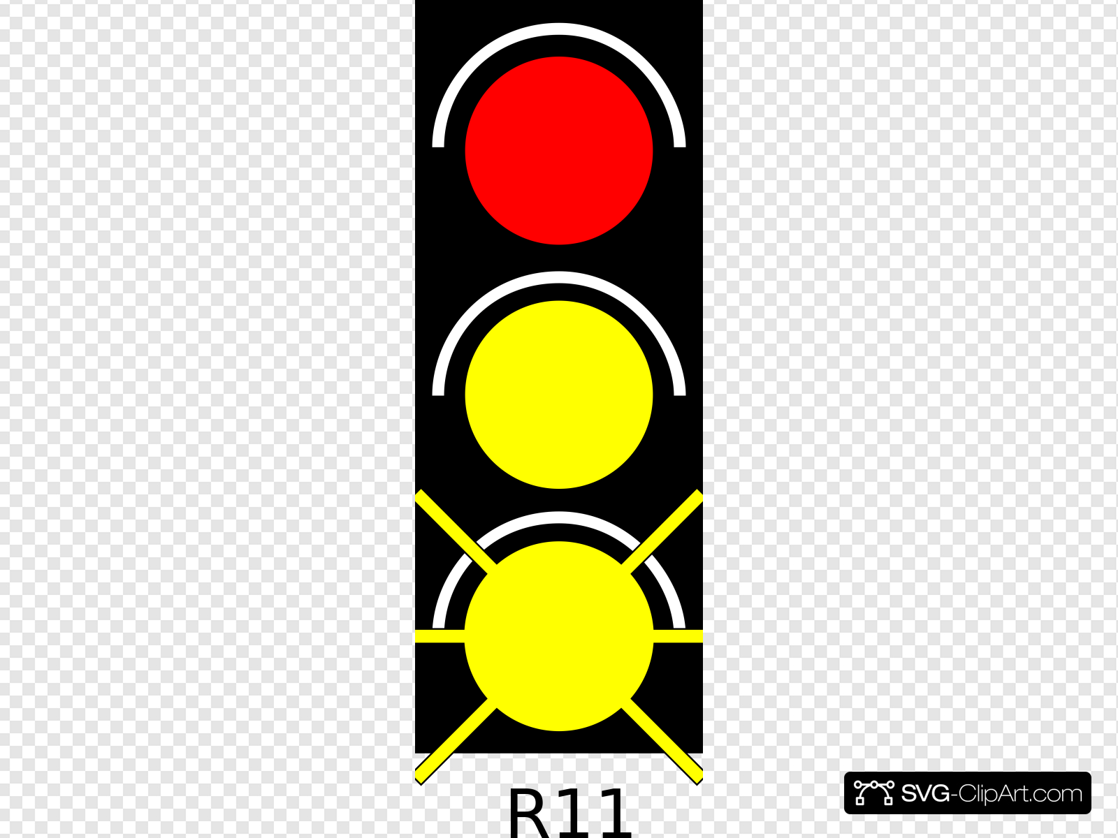 Red Light Traffic Light Clip art, Icon and SVG.