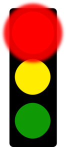 Red Stop Light Clip Art at Clker.com.