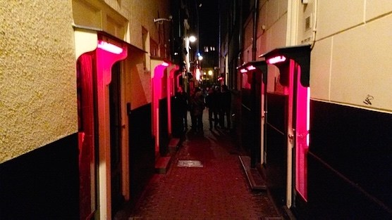Amsterdam Red Light District Questions & Answers.