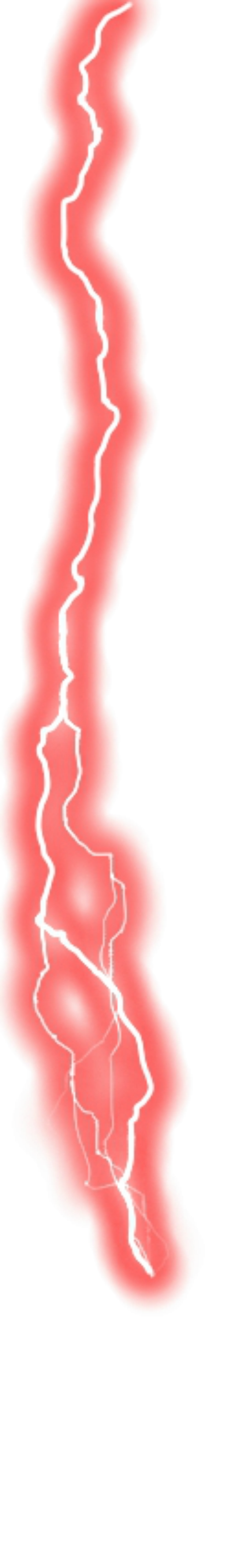 Red Lightning Png (+).