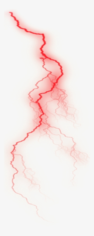 Red Lightning Png.