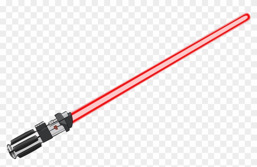 Red Lightsaber Png.