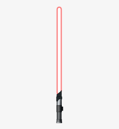 Red lightsaber png AbeonCliparts.