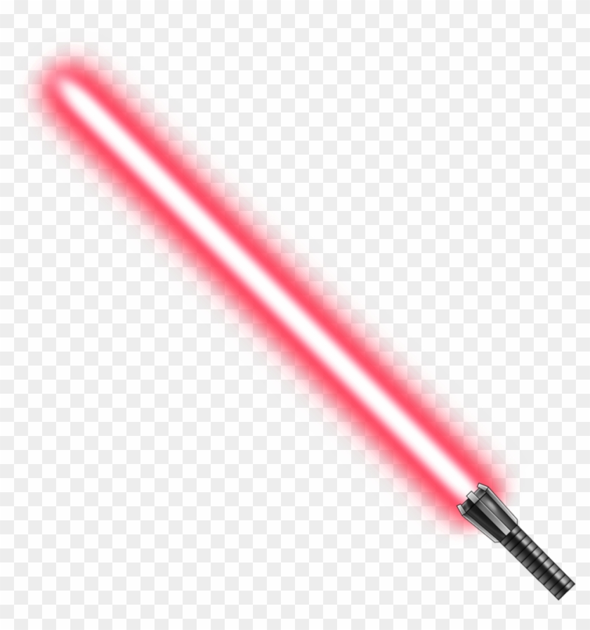 Red Lightsaber Png Picture.