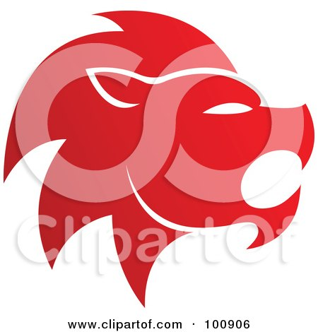 red lion clipart #14
