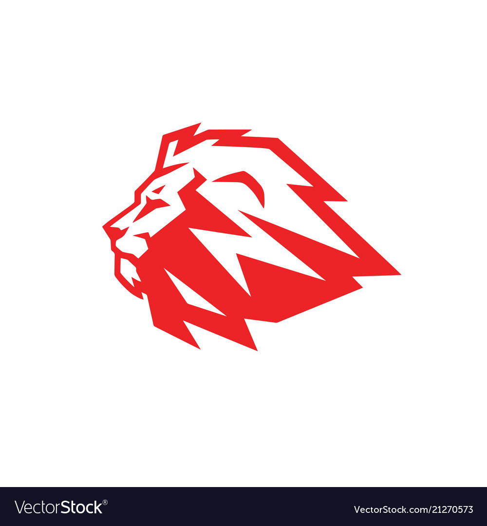 Red lion logo.
