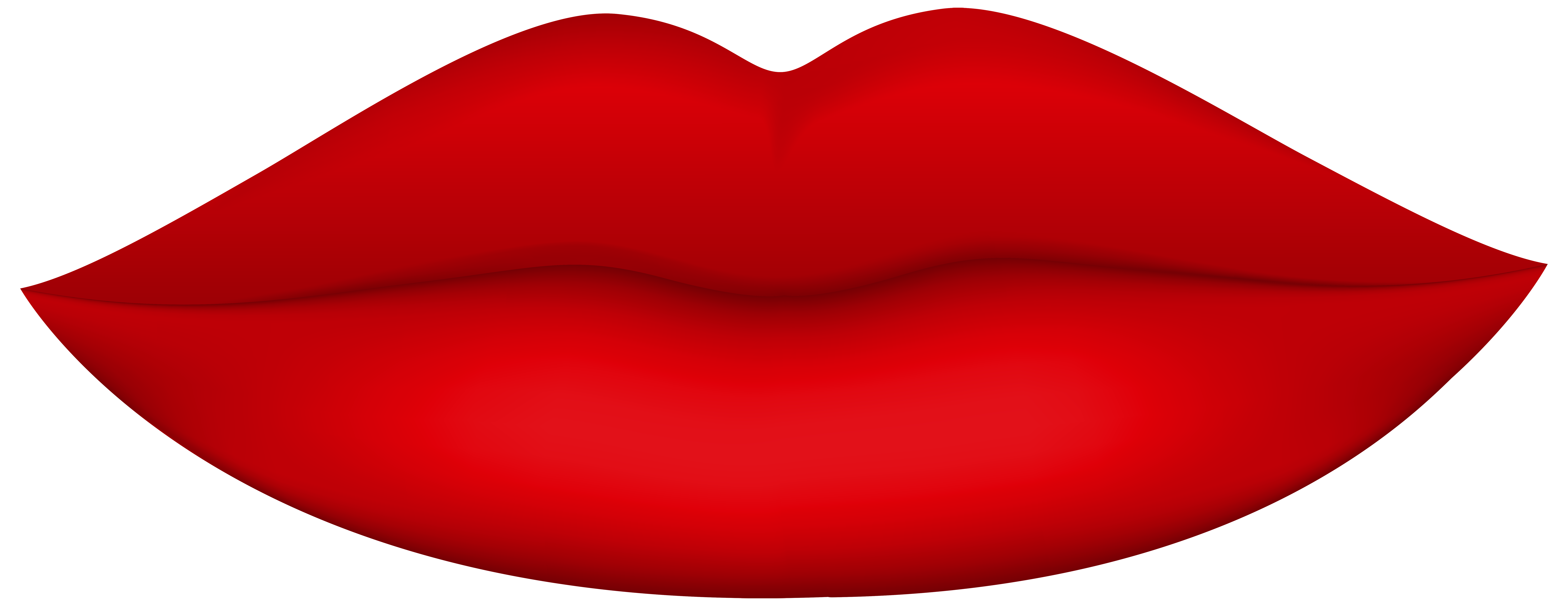 Red Lips PNG Clip Art.