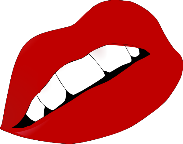 Red Lips Clipart.