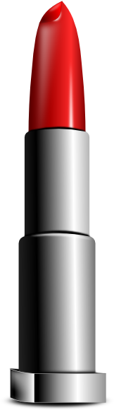 Red lipstick clipart.