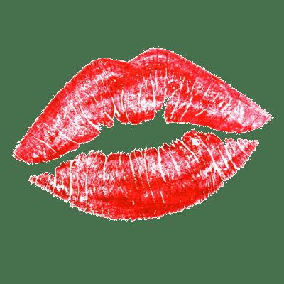 Lipstick Kiss transparent PNG.