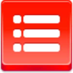 Free Red Button Icons List Bullets.