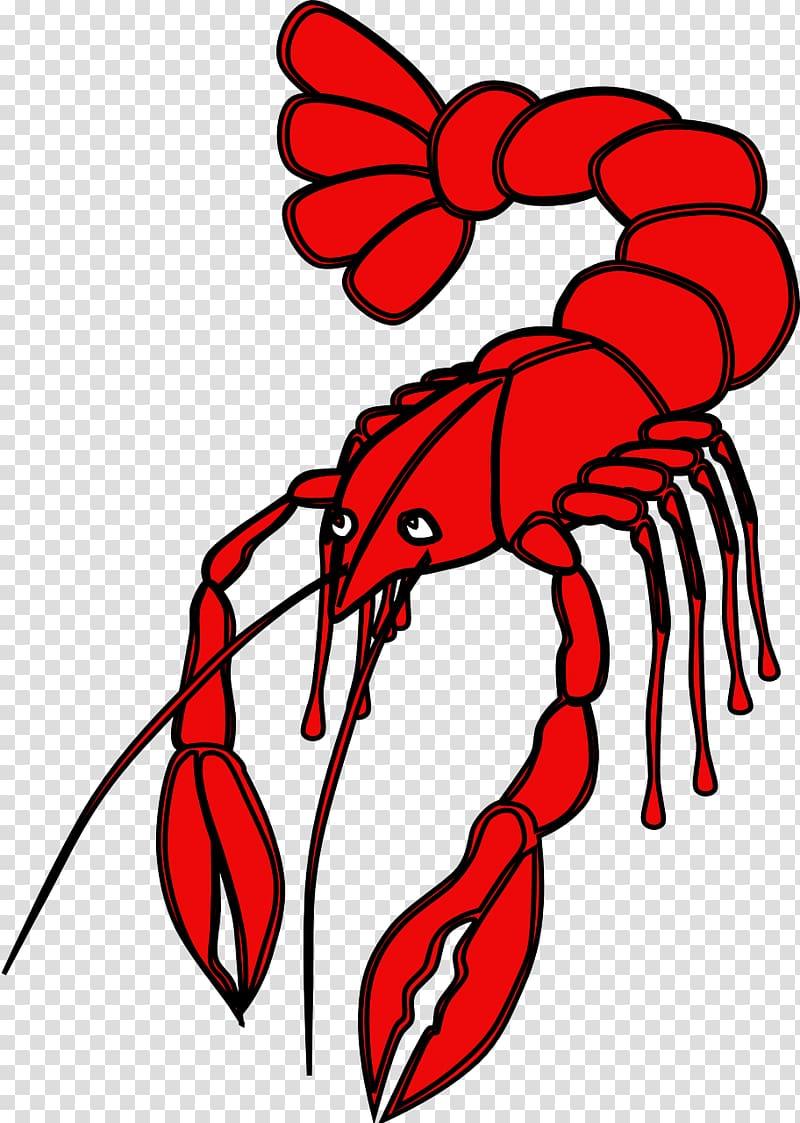 Crayfish Cajun cuisine Free content , Red Lobster.