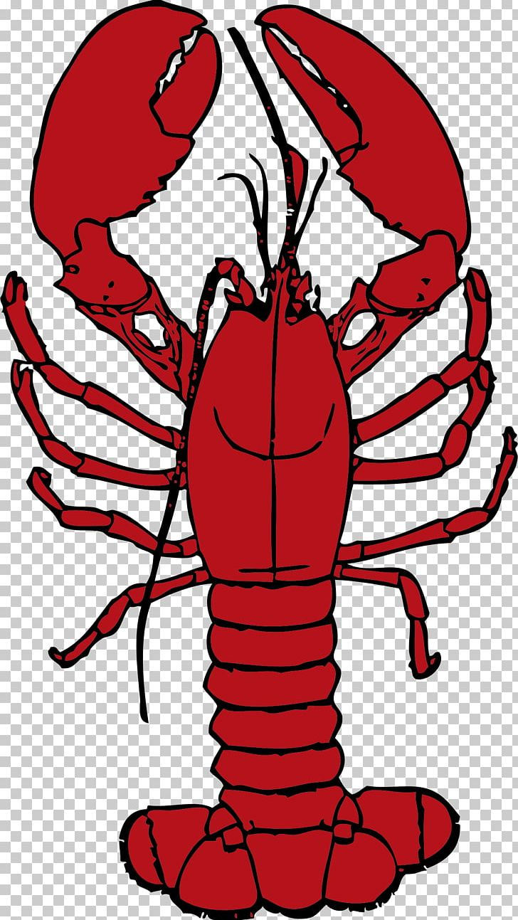 Red Lobster PNG, Clipart, Animals, Art, Artwork, Black And.
