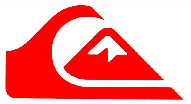 Red wave and mountain Logos.