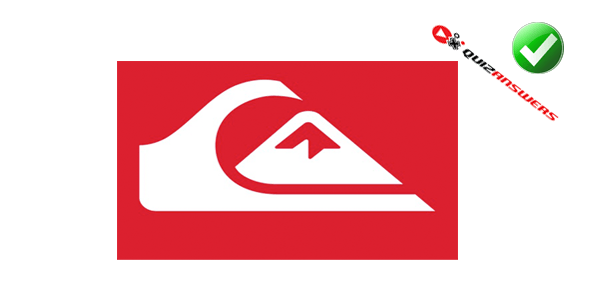 Wave and Red Mountain Logo.