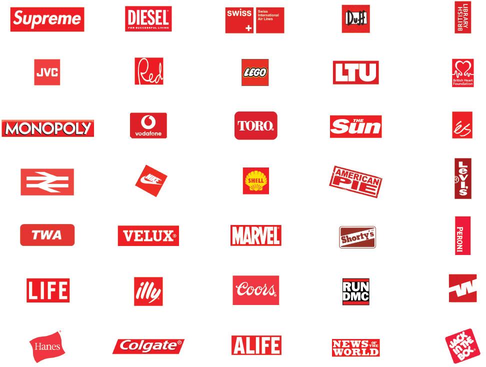 Red k Logos.