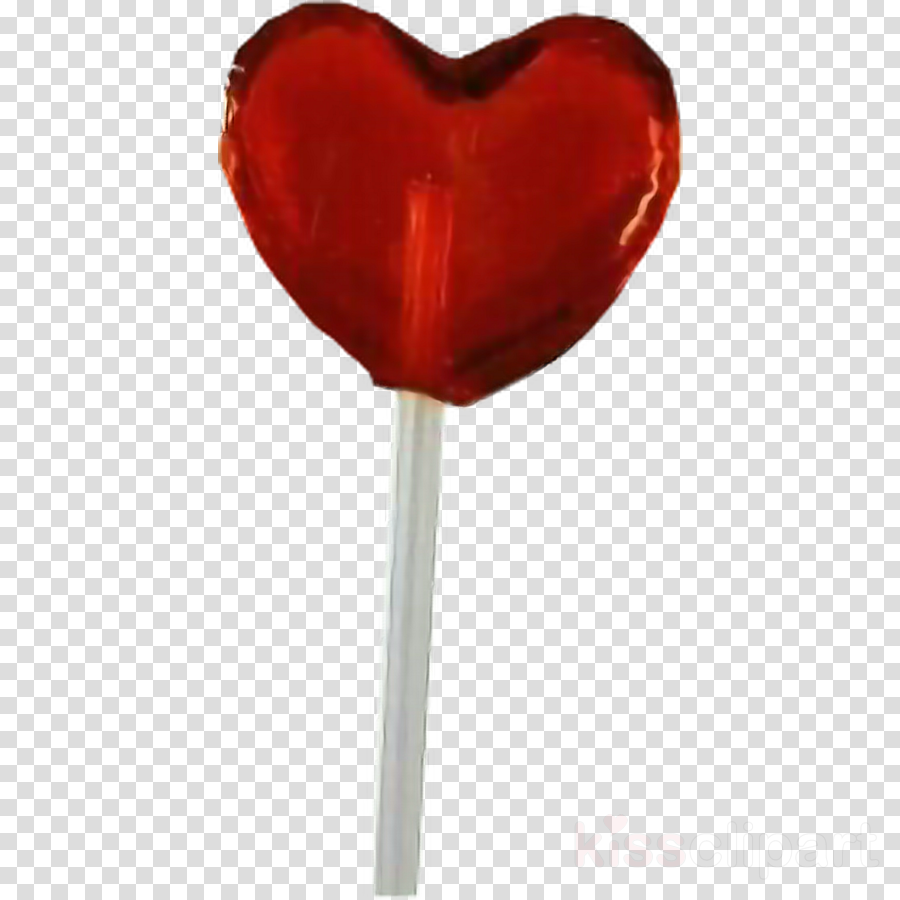 red lollipop confectionery tulip candy clipart.