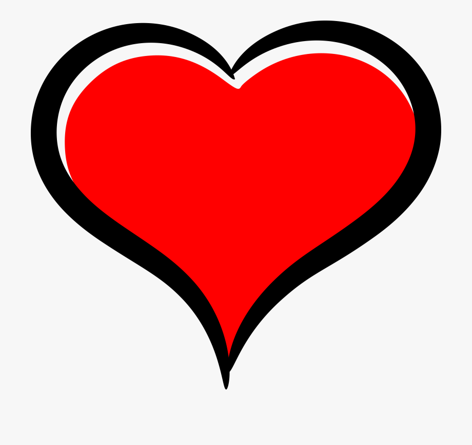 Love Clipart Red Heart.