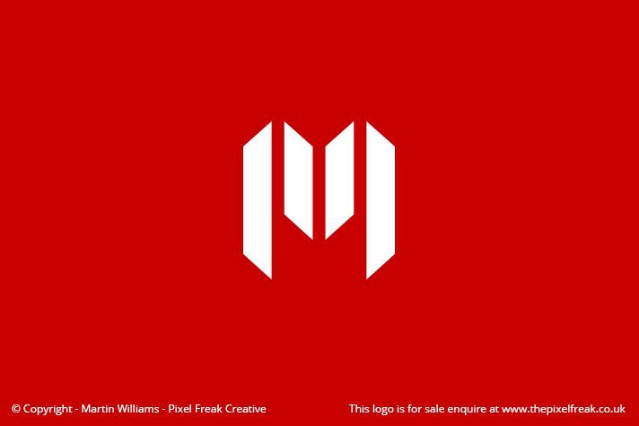 Letter M Logo *For Sale*.