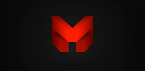 M logo.