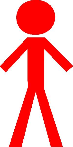 Red Man Clip Art at Clker.com.