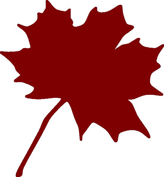 Red Maple Leaf Clip Art at Clker.com.