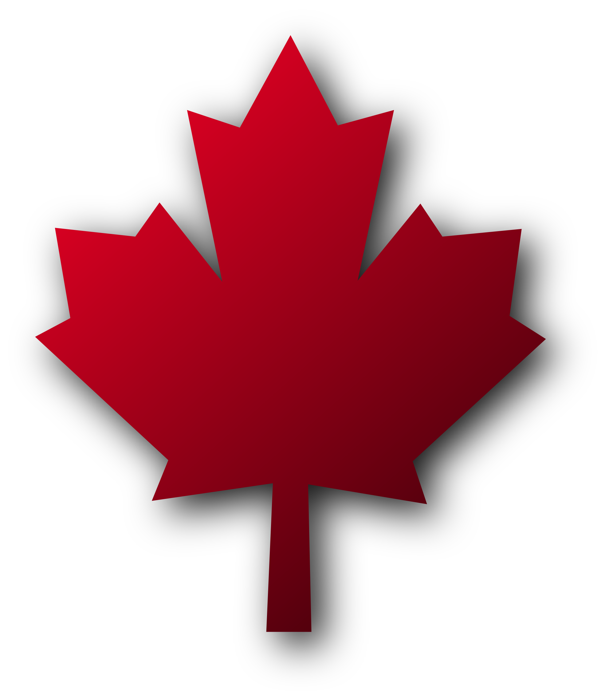 Red Maple Leaf Clip Art.