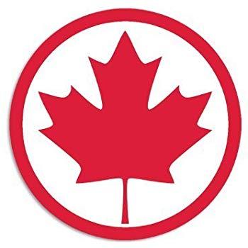 Amazon.com: Maple Leaf Canada RED Finish Decal Emblem 3D.