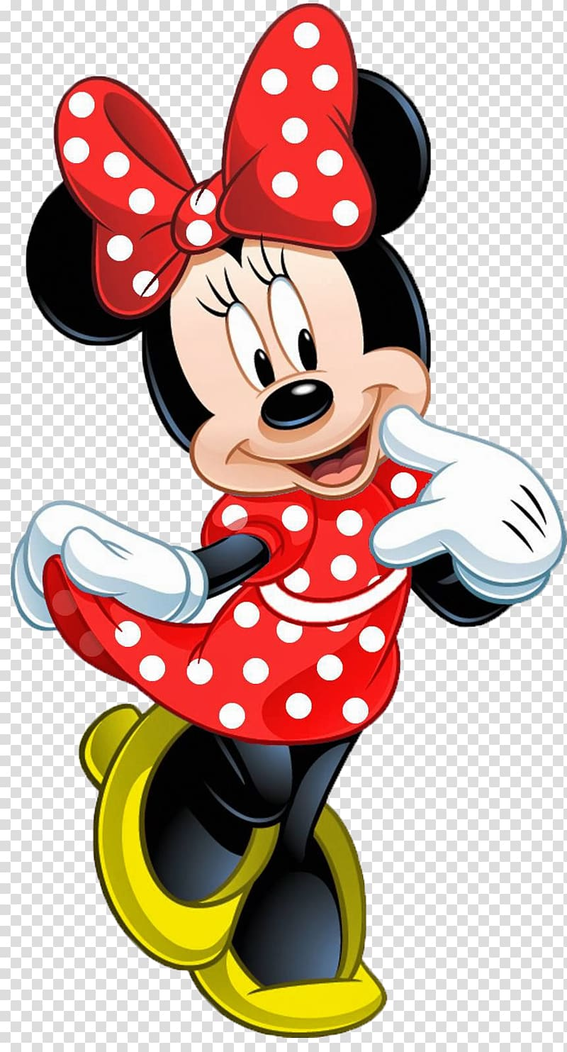 Minnie Mouse illustration, Minnie Mouse Mickey Mouse Daisy.