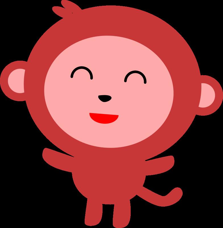Monkeys clipart easy, Monkeys easy Transparent FREE for.