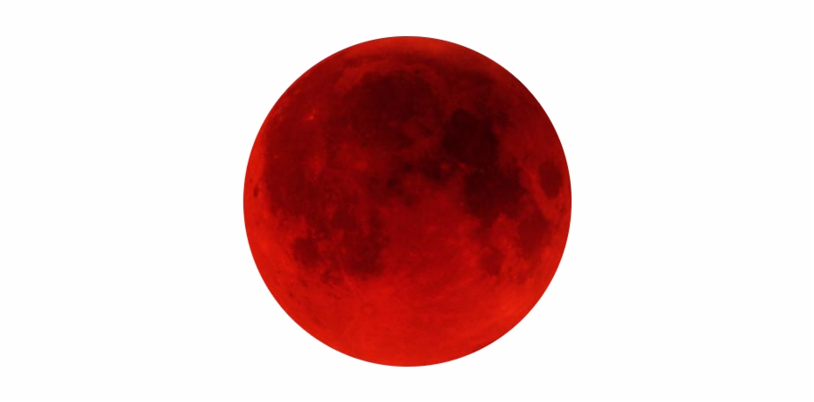 Red Moon Png.