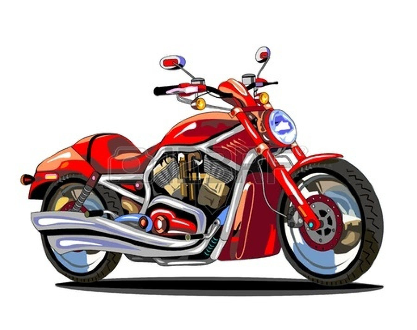 Motorcycle clip art free download.