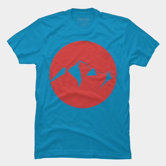 Red Mountain Logo Insignia T Shirt By Pholange Design By Humans.