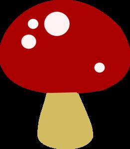 Red Mushroom Clipart.